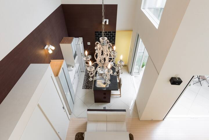 Double height luxury house+Quiet Patio+7seater-Car
