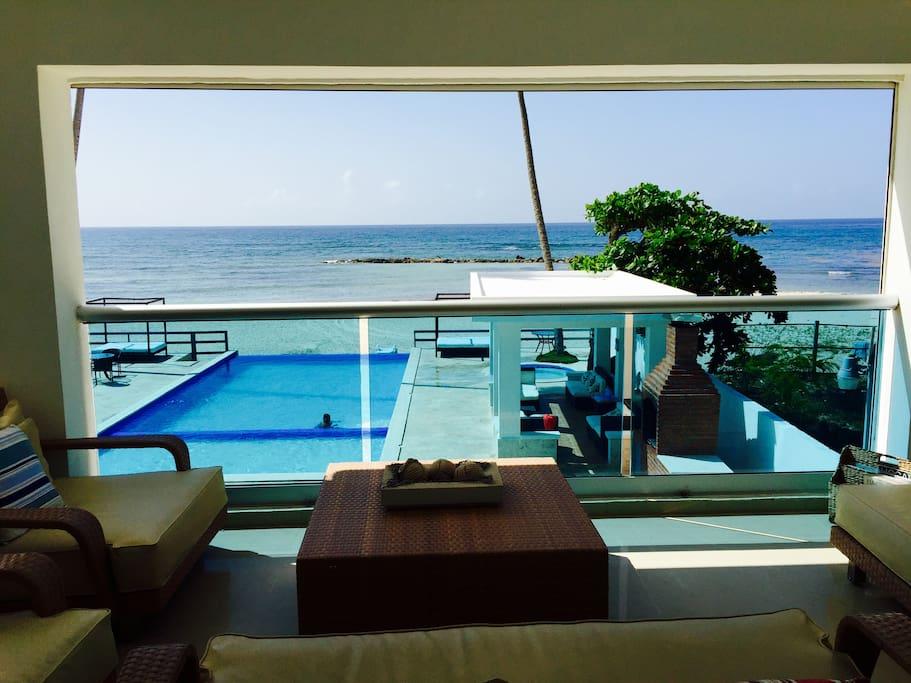 Balcony/Master Bedroom View