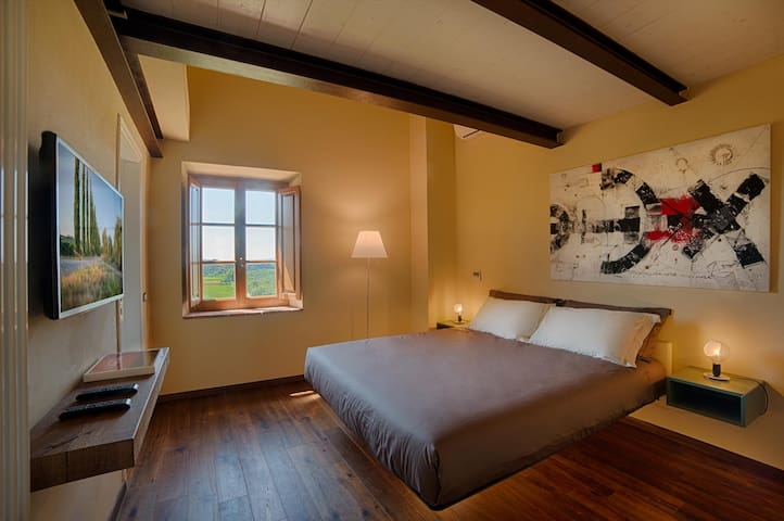 Camera Olivo in Chianti B&B Design - Vitignano - อพาร์ทเมนท์