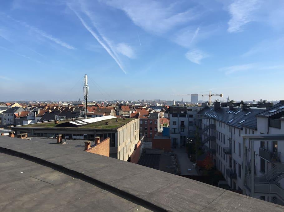Vue sur Bruxelles-Est