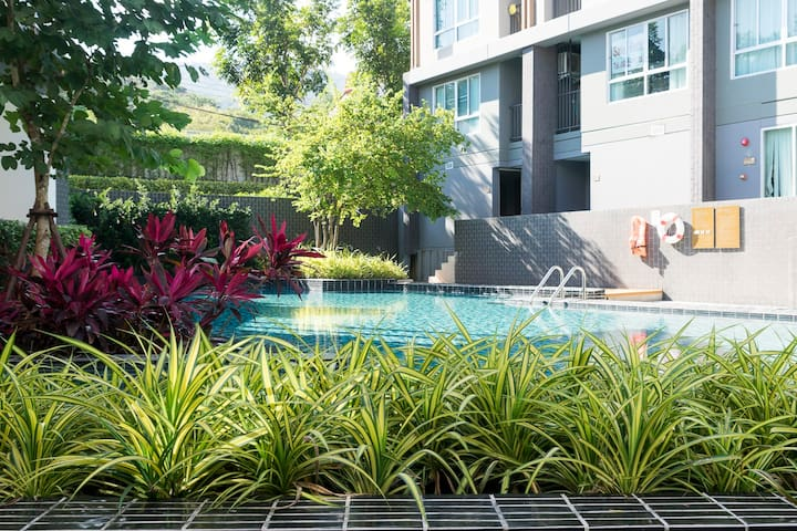 Modern Studio Apartment with Pool and Gym - Mueang Chiang Mai District