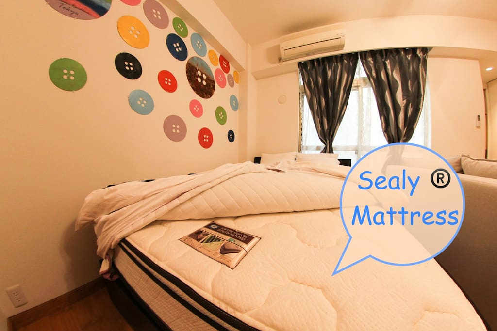 High End Sealy Bed.
