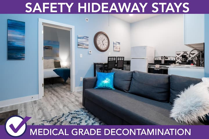 Safety Hideaway - Medical Grade Clean Home, Downtown Columbus