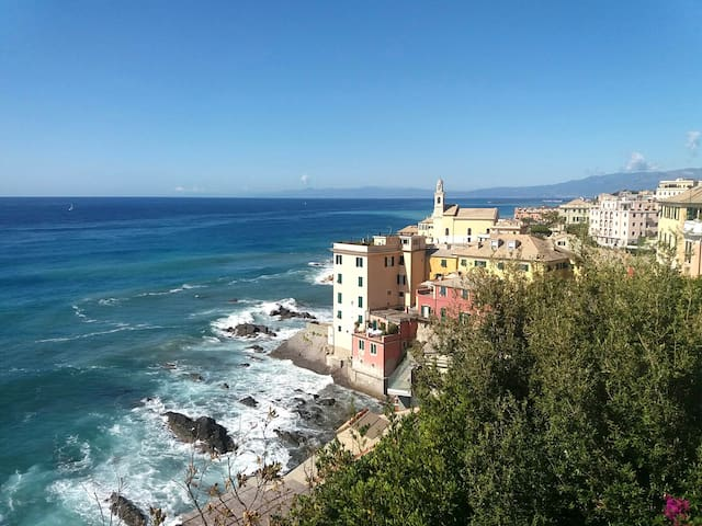 Appartamento  in magica  posizione sul mare