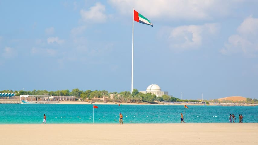 Best location in AbuDhabi 2min walk from the beach - Abu Dhabi - 公寓