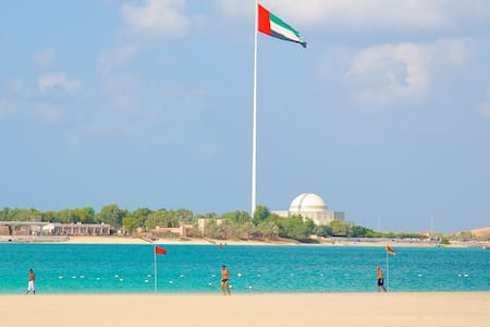 Best location in AbuDhabi 2min walk from the beach