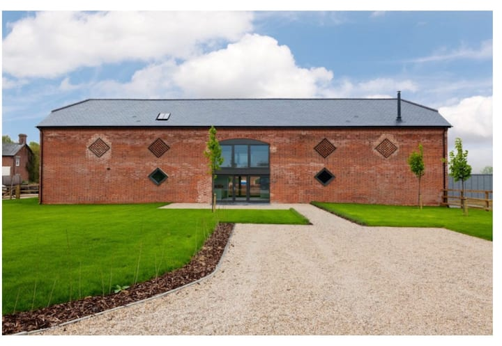 Modern barn conversion countryside get away