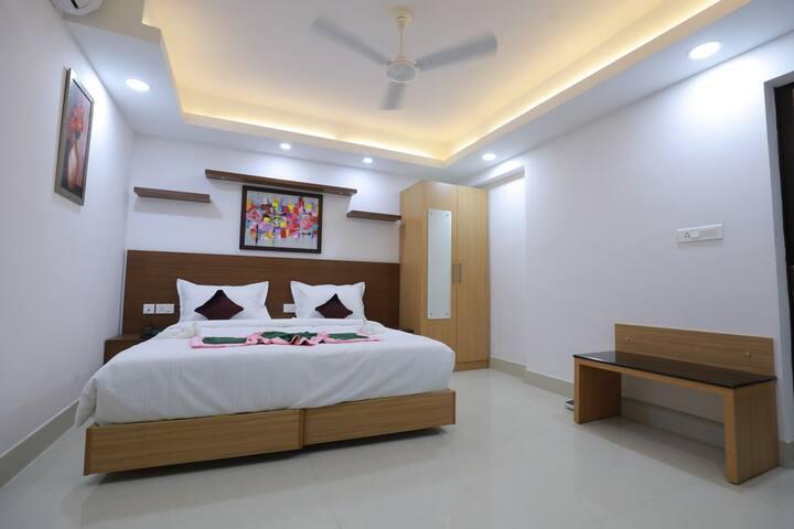 Premium Room at Swades Myhome Dharmalayam Road Manjalikulam Thiruvananthapuram Kerala