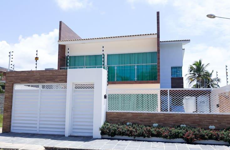 Casa Com Piscina, 5 quartos. Maragogi, Peroba
