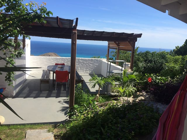 Case a  flo vue mer magnifique - Gustavia - Dom
