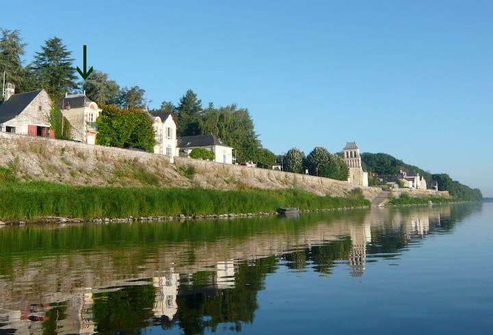 Pavillon indépendant sur rive de Loire en Anjou