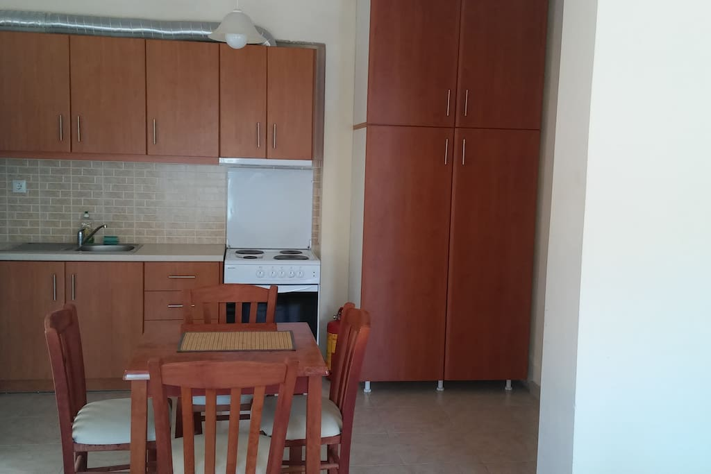Εσωτερικός χώρος - Κουζίνα