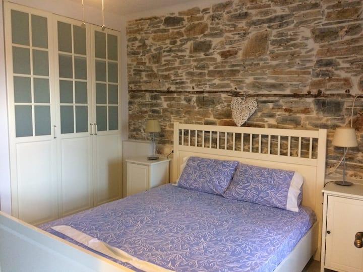 Πέτρινο σπίτι στο Βράχο στην Άφησσο