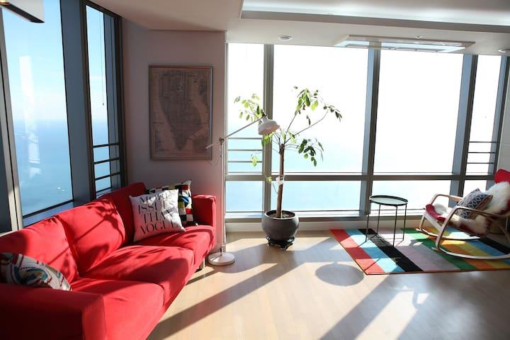 New Open!!  Ocean Paradise in Heaundea!! - Haeundae-gu - Apartment