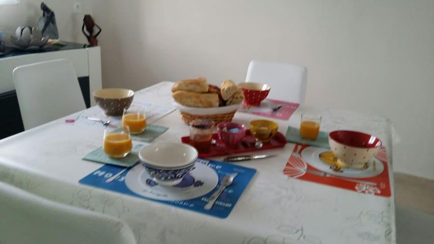 Chambre tout confort dans propriété - Bétheny - Casa