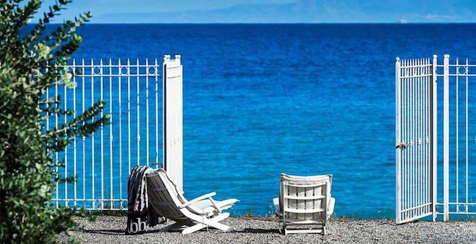 Estate a Cariddi - Appartamento sul mare