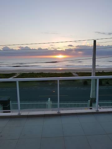 Do terraço ao nascer do sol
