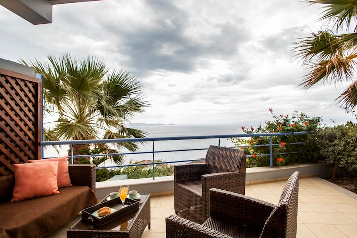 Luxury Villa Afrodite Stunning View with PRIVATE BEACH