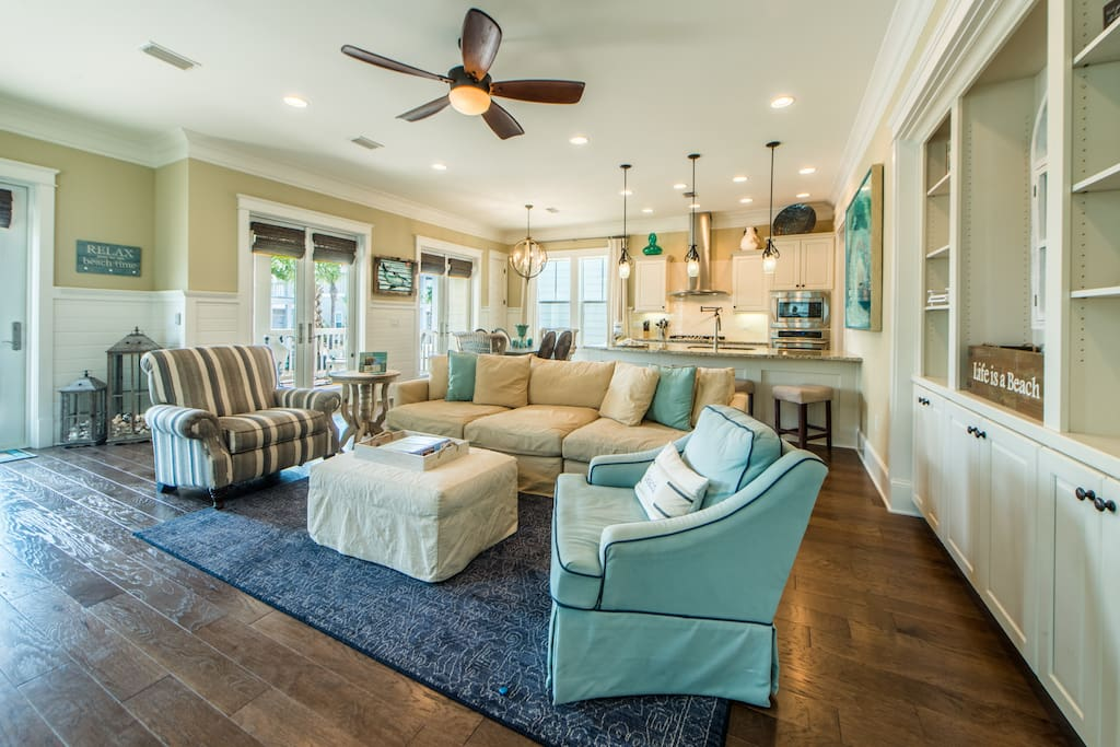 Plenty of Seating in Living Space