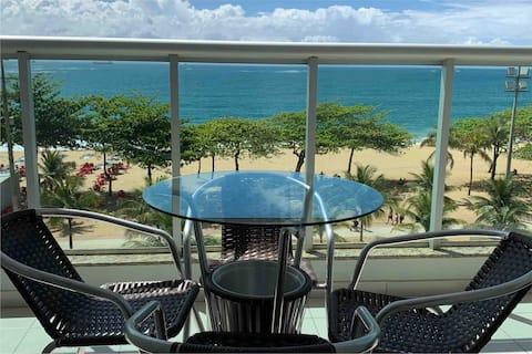Flat Frente para o mar Praia de Itaparica V Velha