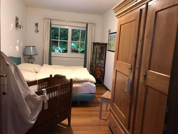 Ruhiges Doppelzimmer am Rhein