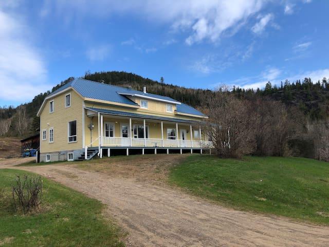 Maison ancestrale l'Abris