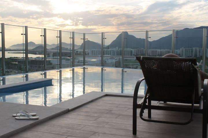 Suíte Solteiros / Casal padrão A, Barra da Tijuca