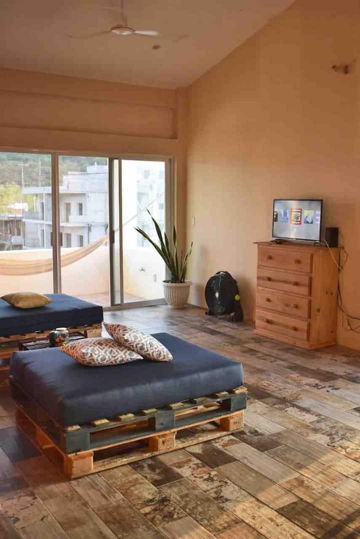 Habitación ❤️ Vista panorámica, baño privado, WiFi