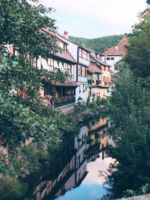 Le village de Kaysersberg