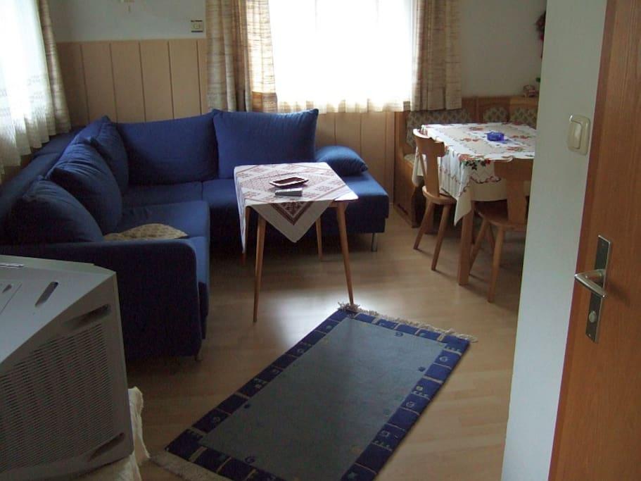 Größere Ferienwohnung: Wohnzimmer
