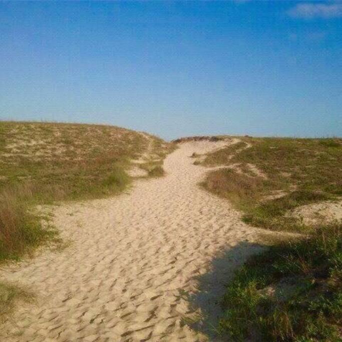 Caminho da praia do Rio Tavares