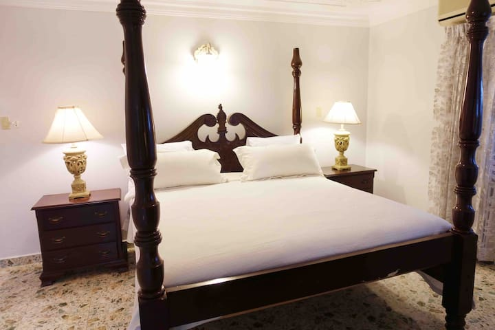Master Bed room with King size bed