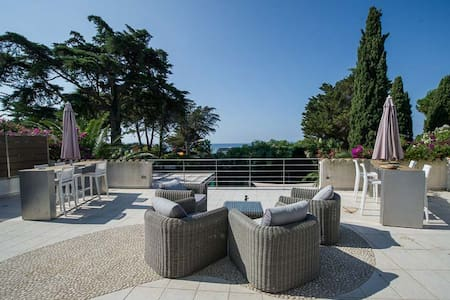 5-bedroom villa with pool on Gigaro beach - La Croix-Valmer