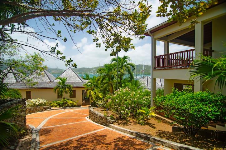 Antigua Yacht Club Marina Resort Garden View