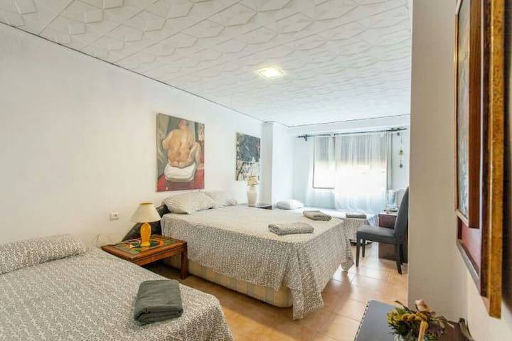 I PRECIOSA HABITACIÓN 15min CENTRO - València - Bed & Breakfast