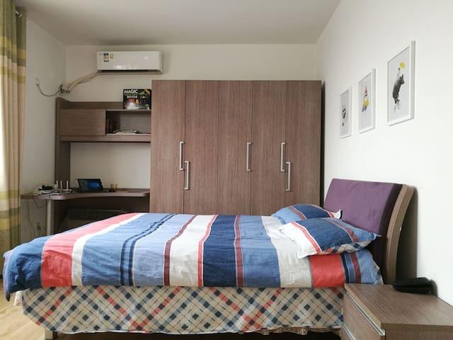 Bedroom 1 with work desk