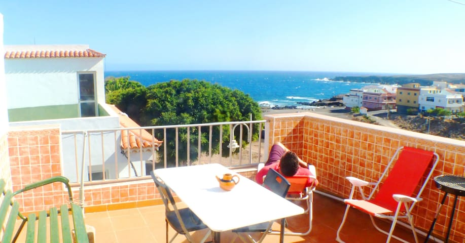 SEAFRONT ATTIC ARICO – TERRACE – BEACH  - WIFI - Santa Cruz de Tenerife - Apartment