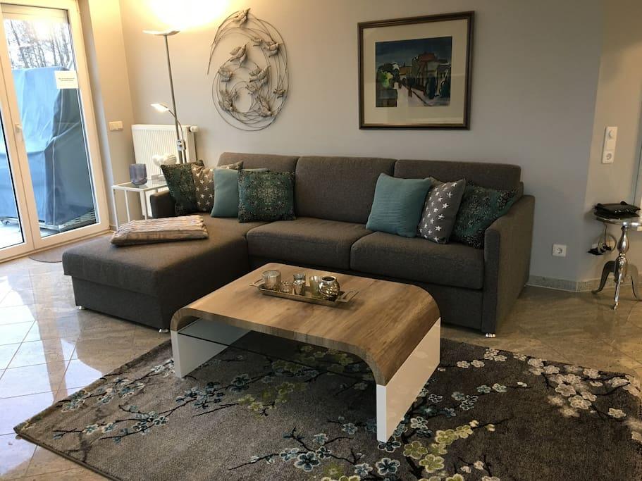 3 zimmer komfortwohnung wlan kostenfrei condominiums for rent in ostseebad boltenhagen. Black Bedroom Furniture Sets. Home Design Ideas