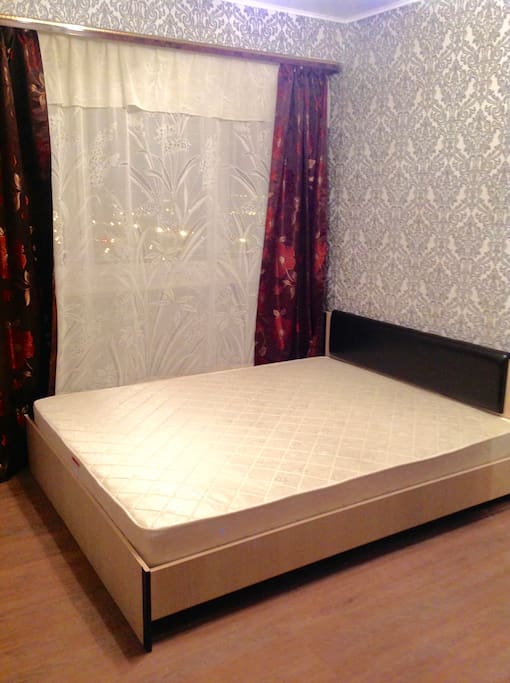 your bedroom (bed linen is provided)