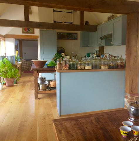 Greencuisine organic retreat - East Sussex - Rumah