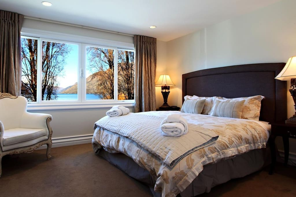 """Master Bedroom   A guest 5 star review- """"Wonderful property in a fantastic location - spacious and very well appointed - would certainly book this property again"""" Nigel"""