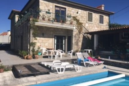 Spacious villa in Portugal with swimming pool - Vila Praia de Âncora