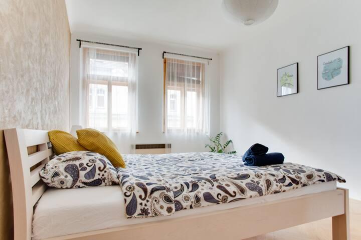 Warm, big 2BDs apartment