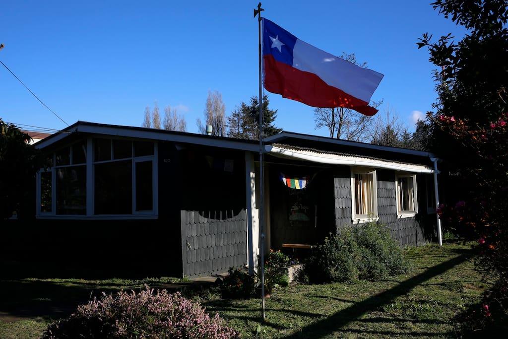 Entrance of a real southern house! / Entrada a La Casa Vieja!