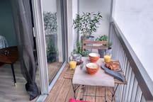 Studio cozy près de la gare St jean