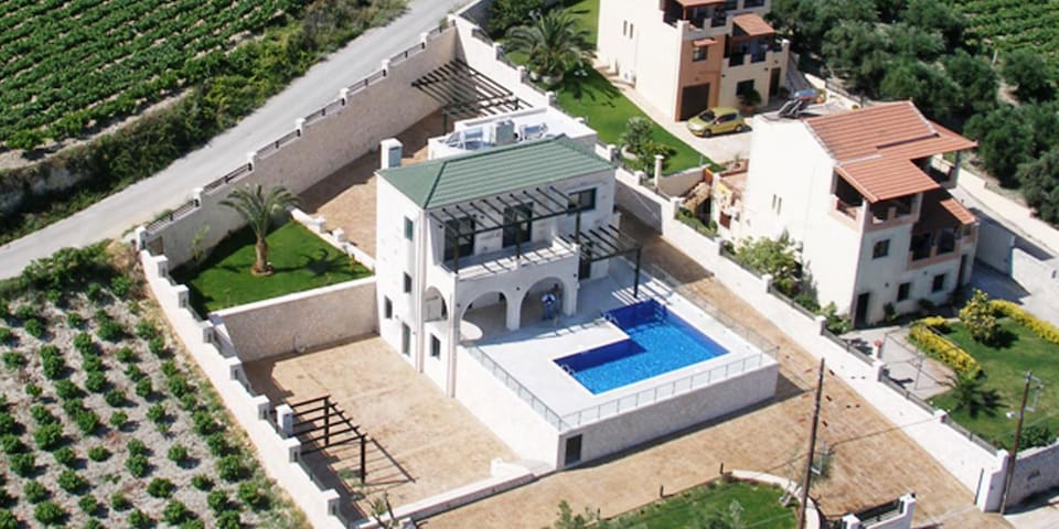 Entire property from above