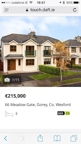 Great location sunny southeast - Gorey - House