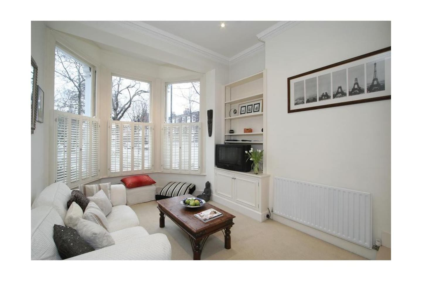 Sitting Room overlooking Parsons Green
