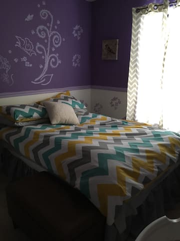 Cheap Lodging, Private Basic Room - Goldsboro - Huis