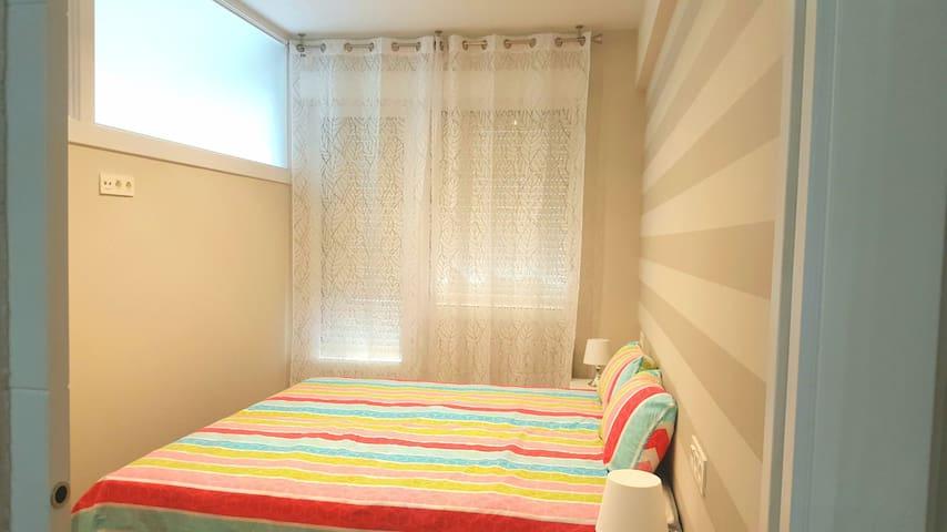 Habitacion con terraza y cama doble 160x190